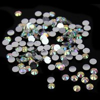 Wholesale mm Multi Color Facets Resin Round Rhinestone Sparkling Rhinestones Nail Art Decoration DIY N22