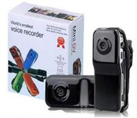 Wholesale Sports Video Cam Recorder - Mini DVR Camcorder Sport Video Recorder Digital Spy Hidden Camera Web Cam MD80 Action Cam Video Record Helmet Camera