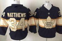 Wholesale Toronto Maple Leafs anniversary MATTHEWS Hockey Jerseys popular mens MARER Hockey Wear tops NYLANER Hockey Jerseys
