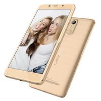 al por mayor leagoo phone-Touch ID barato LEAGOO M8 5.7 pulgadas IPS 1280 * 720 HD Android 6.0 3G WCDMA Quad Core MTK6580 Escáner de huellas dactilares 13.0MP cámara GPS teléfono inteligente