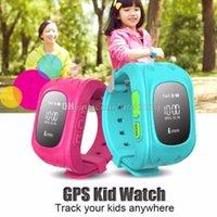 Q50 Enfants Smart Watch GPS LBS Double Situation Safe Enfants Activité Tracker SIM Quadri-bande GSM SOS Safe pour Android et IOS LCD / OLED Free DHL