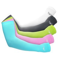 Wholesale 5 Colors Outdoor Armwarmers UPF50 Sun Sleeves High Quality Driving Cycling Cool Breathable Unisex Arm Sleeves