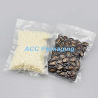 bean bag s - 8 cm Open Top Vacuum Clear Packaging Bag For Beans Sugar Nuts Heat Seal Bags For Freezed Dried Food Storage Plastic Pack Bag