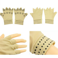 Wholesale Magnetic Therapy Gloves Support Hand Arthritis Muscle Pain Hand Care Gloves Pressure Care Gloves B1123