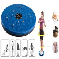 Blue aerobic fitness - New Twist Waist Torsion Disc Board Aerobic Exercise Fitness Reflexology Magnets Foot Exercise Fitness Twister For Fit Hours