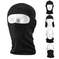 Unisex solid black Spring & Fall Balaclava Ski Mask (2 Pack) Bicycle Premium Face Mask for Outdoors Riding Tactics Go Fishing Dustproof Cold Motorcycle Headgear full Mask
