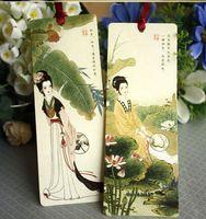 Las PC al por mayor-7 / el papel del estilo de los Chinses de la vendimia de la porción DIY señalan el envío libre 01434 de la libreta de nota de las fuentes de escuela de la oficina de la tarjeta de la palabra del regalo