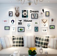 Wholesale new style stickers home decor frame wall memories photo frame vinyl wall home decor hot sale