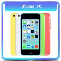 Wholesale Original Apple Iphone C GB GB GB Dual Core GB RAM MP quot TouchScreen WCDMA Unlocked Refurbished Phone