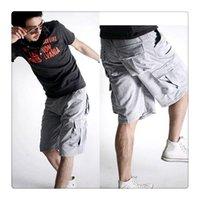 basketball jersey designs - Basketball Shorts Korean Popular Style Multi Pocket Design Pure Cotton Men s Summer Sports Shorts US Size XS M