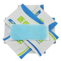 aids fever - 5PCS First Aid Ice Cooling Gel Patch Antipyretic Paster Fever Pain Relief Household Travelling
