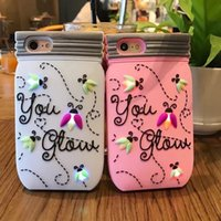 bee iphone - Newest Fashion Cartoon Silicone Bee Phone Shell for Iphone plus s plus Lovely Glitter Case Soft Tpu Phone Cases Cover