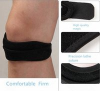 Wholesale Adjustable Sports Knee Patella Tendon Support Strap Band Gym Fitness Belted Leg Knee Support Brace Guard Pad Protector Strap PC