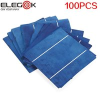 Wholesale ELEGEEK W High Efficiency Polycrystalline Solar Cell Photovoltaic Cell Poly Solar Cell for DIY W Panel