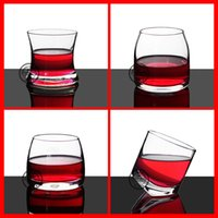 Wholesale High quality hand blown ml whisky glass hand made whisky glass with OEM decal logo