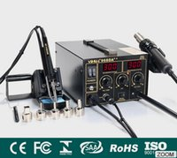 Wholesale 968 da heat gun soldering station Heat gun digital display temperature control Intelligent smoking