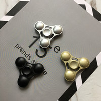 Big Kids Multicolor Metal Fidget Spinner HandSpinner Hand Spinner Finger EDC Toy For Decompression Anxiety Kirsite Metal Ceramic Bearing with retailed box