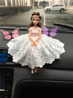 Wholesale Automobiles Interior Accessories Princess Decorations Dolls for cars Decor Car Head Rear Windows Stickers Accessories