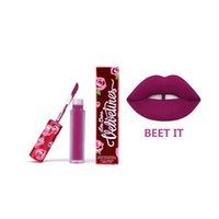 Wholesale lower price color Lime Crime lipgloss velvet matter lipstick red velvet lana blonine mercury DHL