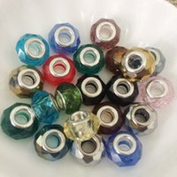 Wholesale Beads for Pandora Charms Charm European Murano Beads Fit Pandora Bracelets Necklaces Pendant DIY Jewelry Accessories Beads