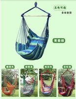 Wholesale trade outdoor indoor household children canvas reinforcement ring comfortable breathable lightweight and easy to carry large swing