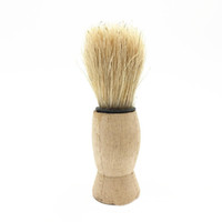Male badger shave brushes - Vintage Pure Badger Hair Removal Beard Shaving Brush For Mens Shave Tools Cosmetic Tool ZA2022