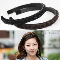 Wholesale Korean fashion resort Bohemia hair wig hair elastic headband European pop princess hair