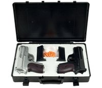 airsoft gun sets - NEW CYMA TWIN SPRING AIRSOFT DUAL PISTOL COMBO PACK SET Hand Gun w Case mm BB
