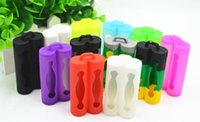 assorted battery - Double Battery Bag Silicone Battery Case Rubber Cover for Dual Battery Assorted Colors E cig Mod Cover