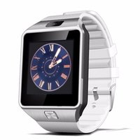 best connectivity white - Best Quality HOT Android DZ09 SmartWatch Wearable Devices With Sim Card Slot Push Bluetooth Connectivity apple IOS PK GT08 Smart watch MZ1