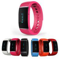 Nouveau S55 Smart Bracelet Étanche Bluetooth 4.0 Band Podomètre Santé Wristband Sleep Monitor Smartband Pour Android IOS Téléphone