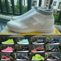 beckham shoes - Ace PureControl Ultra Boost Black White Solar Yellow Men Running Shoes Sneakers Originals Runner Primeknit David Beckham Boosts