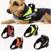 Wholesale Dog Harness Vest JULIUS K9 Pet Dog Training Vest Nylon Chest Strap Traction For Dog Collar OOA978