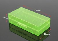 Wholesale Battery Box Portable18650 CR123 Carrying Battery Case Storage Holder