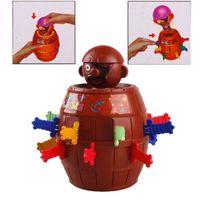 best gadget gifts - Best Gift for Children Kids Baby Interesting Funny Gadget Pirate Barrel Game Desktop Office Toy