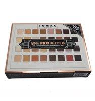 angeles long - 2017 Newest Lorac Mega Pro Los Angeles Palette Limited Edition Eyeshadow Palette Shades Vs Shimmer Matte Eye Shadow Palette