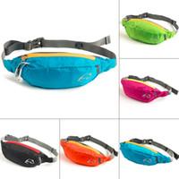 Wholesale Waterproof Polyester Travel Bag Waist Pouch Bum Fanny Pack Purse Belt Hiking Handy Zip Sport Running Crossbody Phone Bag