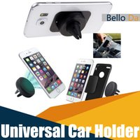 Wholesale Universal Car Mount Magnetic Car Mount Phone Holder for iPhone s One Step Mounting Reinforced Magnet Easier Safer Driving