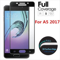 Wholesale For Samsung Galaxy S8 S8 Plus A3 A5 A7 S7 mm D Full Screen Covered Curved Tempered Glass With Retail Package