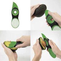 Wholesale 100PCS HHA317 Hot Sell OXO Good Grips In Avocado Slicer Papaya Kiwi Avo Peeler Picker Corer
