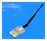 al por mayor alfa network-Antena sin hilos CALIENTE RTL3070 / RTL 8187L del adaptador 5dBi del USB de la red AW de Alfa de la red de DHL 1000mW Alfa sin hilos Envío libre
