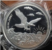 Wholesale Chinese year Shanghai Mint oz Silver Coin eagle commemorative coins