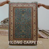 Wholesale 2 x3 handknotted silk classic carpet all over persian rug prices