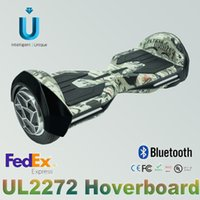 Wholesale IU X1 Unique inch new type with bluetooth cellphone control LED light hoverboard electric scooter with Samsung battery UL certification