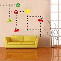 bathroom animation - South Korea animation game design wall stickers The new kindergarten children room post cartoon game glass wall stickers