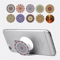 Wholesale Universal PopSockets Expanding Stand Grip Flexible phone holders pop Socket M Glue QQ emoji car phone holder for iphone designs sale