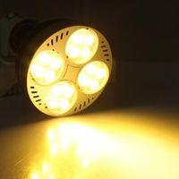 Wholesale E27 LED Par Light AC220 V lm w Osram LEDs Hours White Super Bright SMD3035 Stage LED Par Light