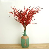 Wholesale Artificial berries for Home decoration Stamen Pip Berry Stems Flower Arrangement Bouquet Wedding Decor cm long