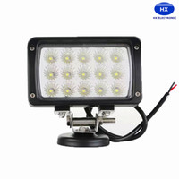 Cheap 6inch 45W LED Work Light Bar White Spot Flood Beam Lamp For Mine 4WD 4x4 SUV ATV BoatTruck Car Working Lamp