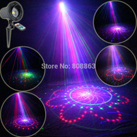 big house holidays - Outdoor Waterproof RGB Laser Big Patterns Projector Coffee Holiday House Party Xmas Tree DJ Wall Garden Landscape Light T65